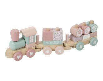 LittleDutch Holz Eisenbahn – personalisiert