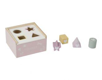 Little Dutch Formensteckspiel personalisiert rosa