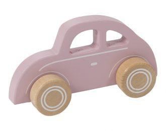 Little Dutch Holzauto Beetle rosa personalisiert