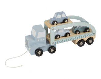 Little Dutch Holz Autotransporter – personalisiert