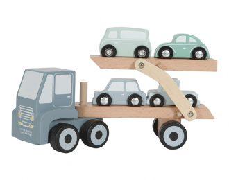 Little Dutch Autotransportwagen Holz- personalisiert