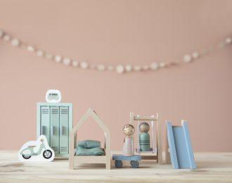 Puppenhaus Spielset Kinderzimmer
